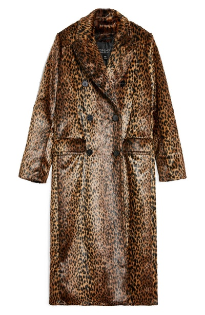 Toni Long Leopard Coat
