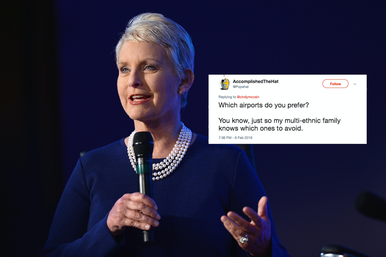 Cindy McCain's Bogus Human Trafficking Claim Got Her