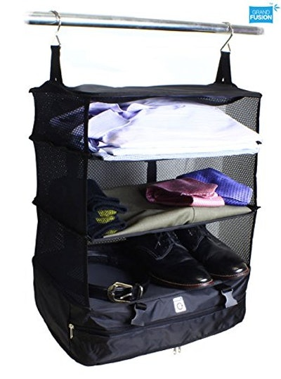 Grand Fusion Housewares Stow-N-Go Portable Luggage System