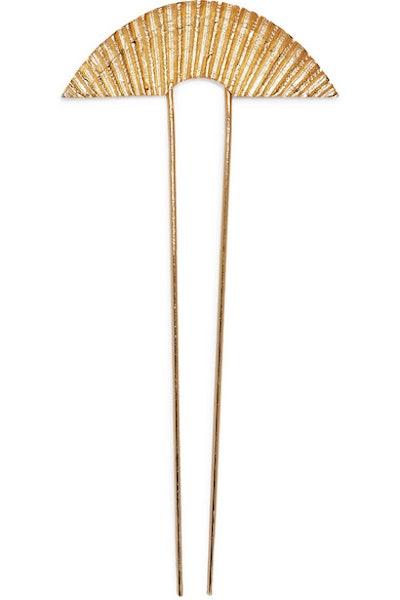 Gold-Plated Hairclip