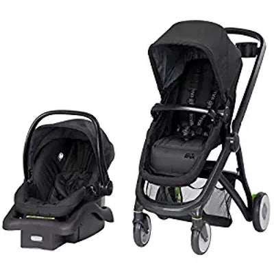 Safety 1st Riva 6-in-1 Flex Modular Travel System with Onboard 35 FLX Infant Car Seat and Base, Grey...