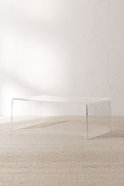 Miotto Acrylic Curve Coffee Table