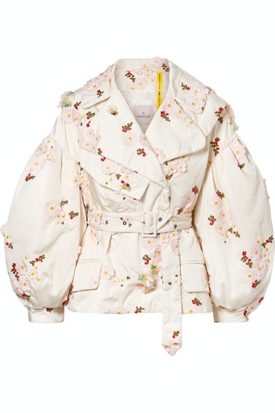 Embellished Floral Jacket