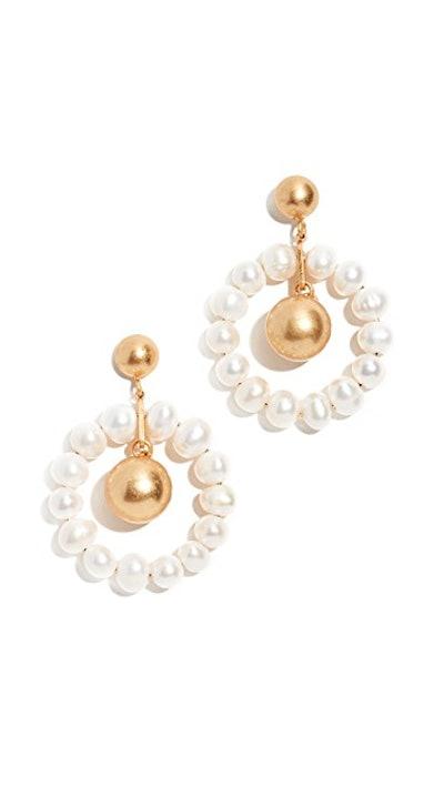 Agnes Pearl Earrings