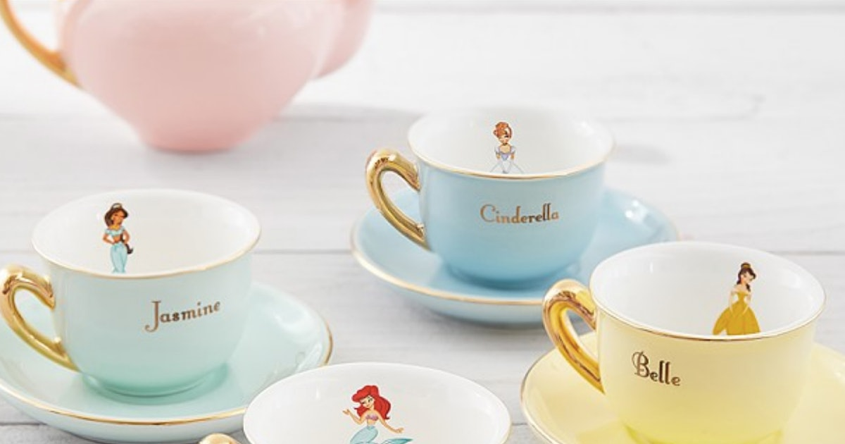 This Disney Princess Tea Set From Pottery Barn Kids Is Actually A Grown Up Fan's Dream Come True