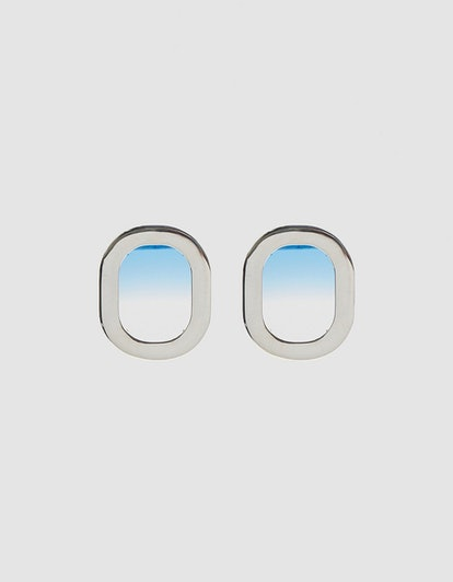 Airplane Window Earrings