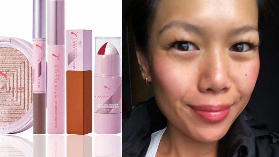 """4930f49c60f I Tested PUMA x Maybelline's New """"High-Performance"""" Makeup Collection  During My Workouts To See If The Products Could Endure My Sweat"""