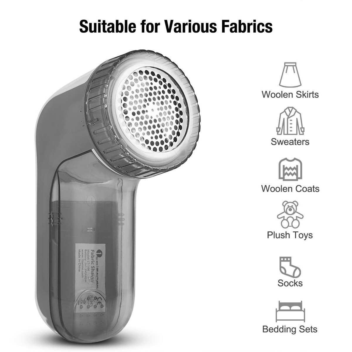 1byone Beautural Portable Fabric Shaver and Lint Remover