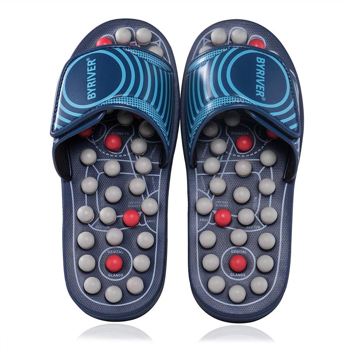 BYRIVER Reflexology Foot Massager