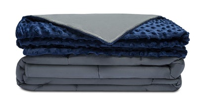 Quility Weighted Blanket & Removable Cover, 60 by 80 inches, 15 pounds