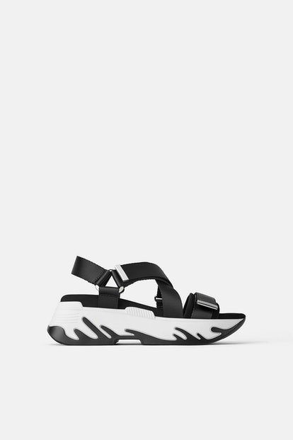 Athletic Platfom Sandals