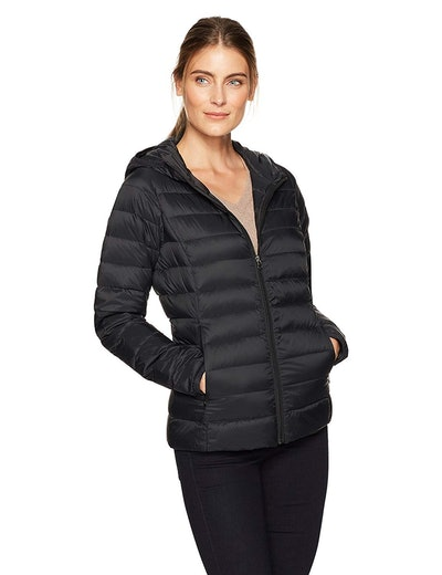 Amazon Essentials Women's Hooded Down Jacket