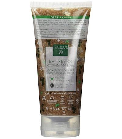Earth Therapeutics Tea Tree Oil Cooling Foot Scrub