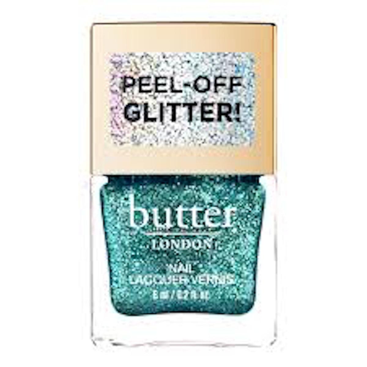 Aquatic Glazen Peel-Off Glitter Nail Polish
