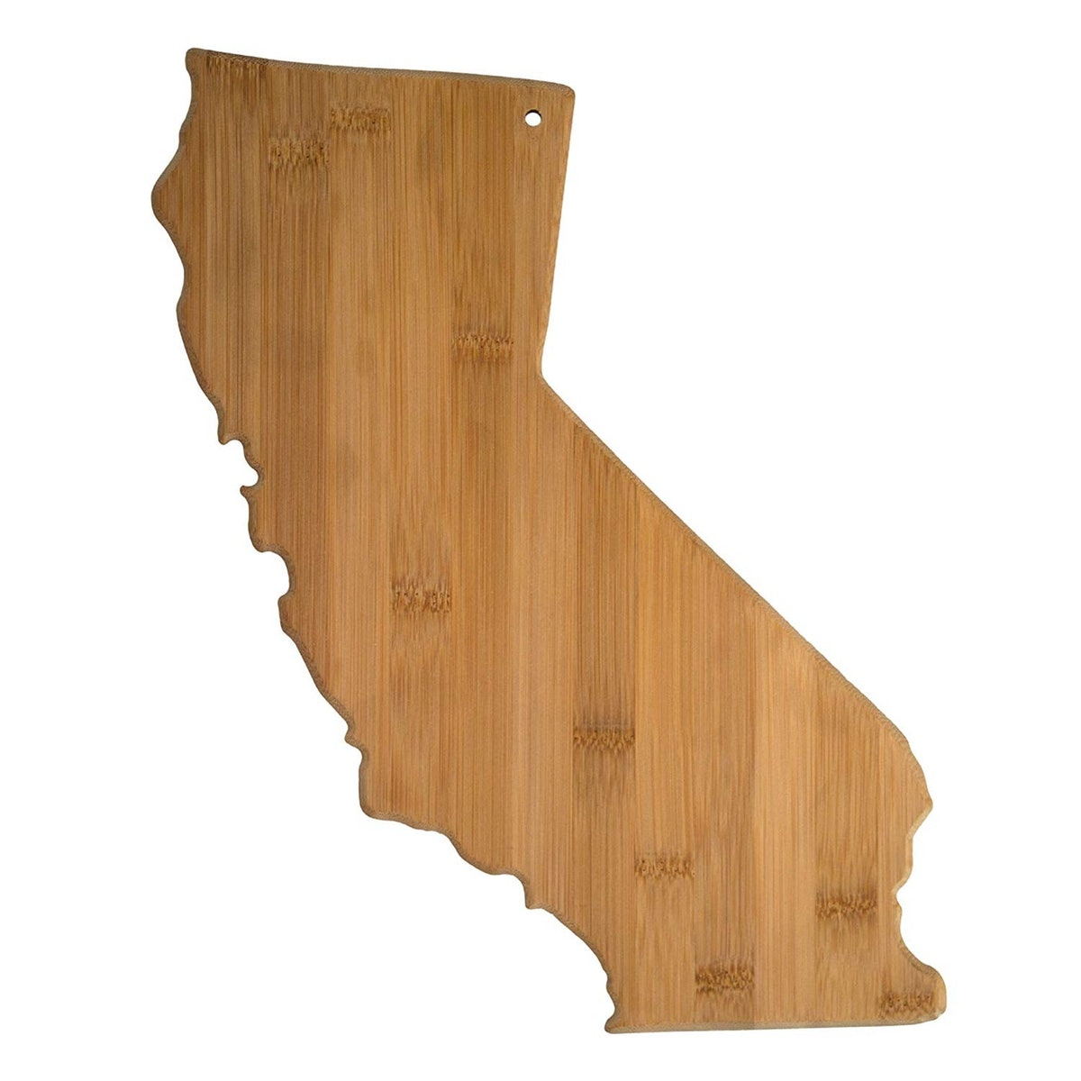 Totally Bamboo State Shaped Cutting Board