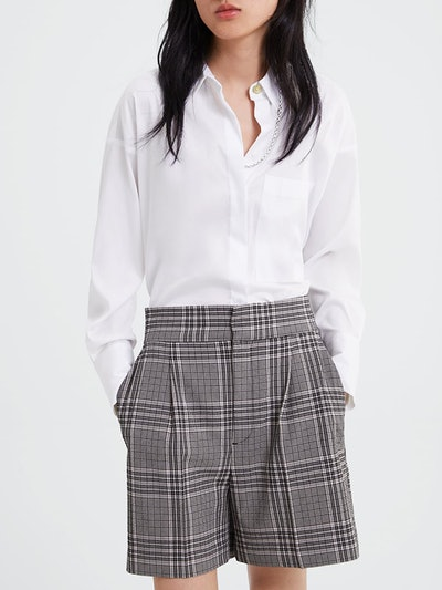 Oversized Blouse With Pockets