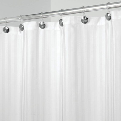 mDesign Shower Curtain, 54 by 78