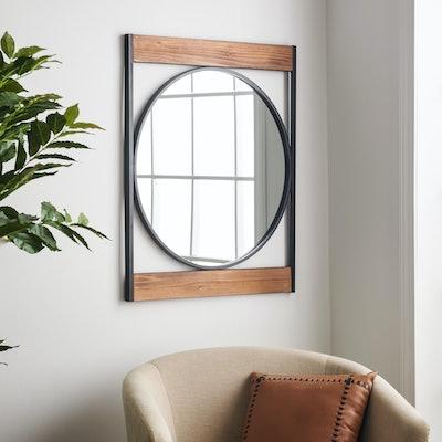 MoDRN Industrial Metal Wall Mirror
