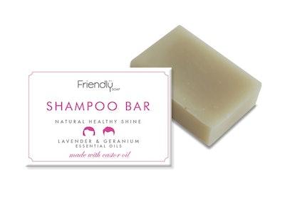 Friendly Soap Natural Shampoo - Lavender & Geranium