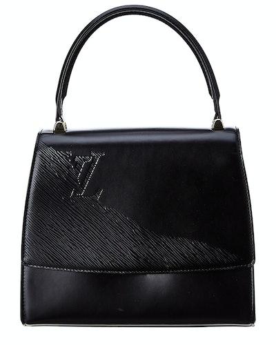 Louis Vuitton Black Leather Opera Athens