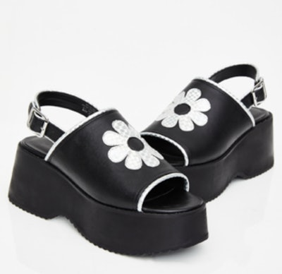 Funky Beat Platform Sandals