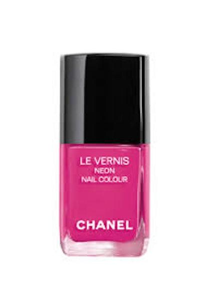 Le Vernis Neon Nail Color in Techno Bloom