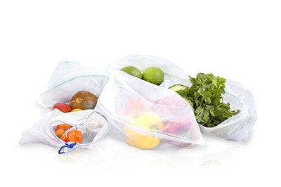 Natural Home Reusable Produce Bags (5 Pack)