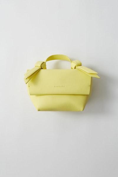 Musubi Milli Bag in Pale Yellow
