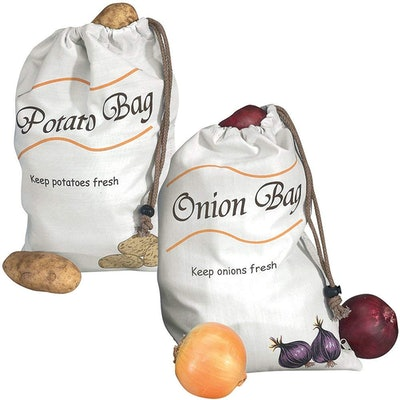 Miles Kimball Potato & Onion Vegetable Storage Bags