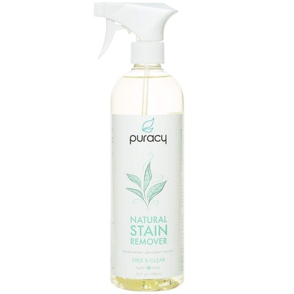 Puracy Natural Laundry Stain Remover, Free & Clear, 25 Ounces