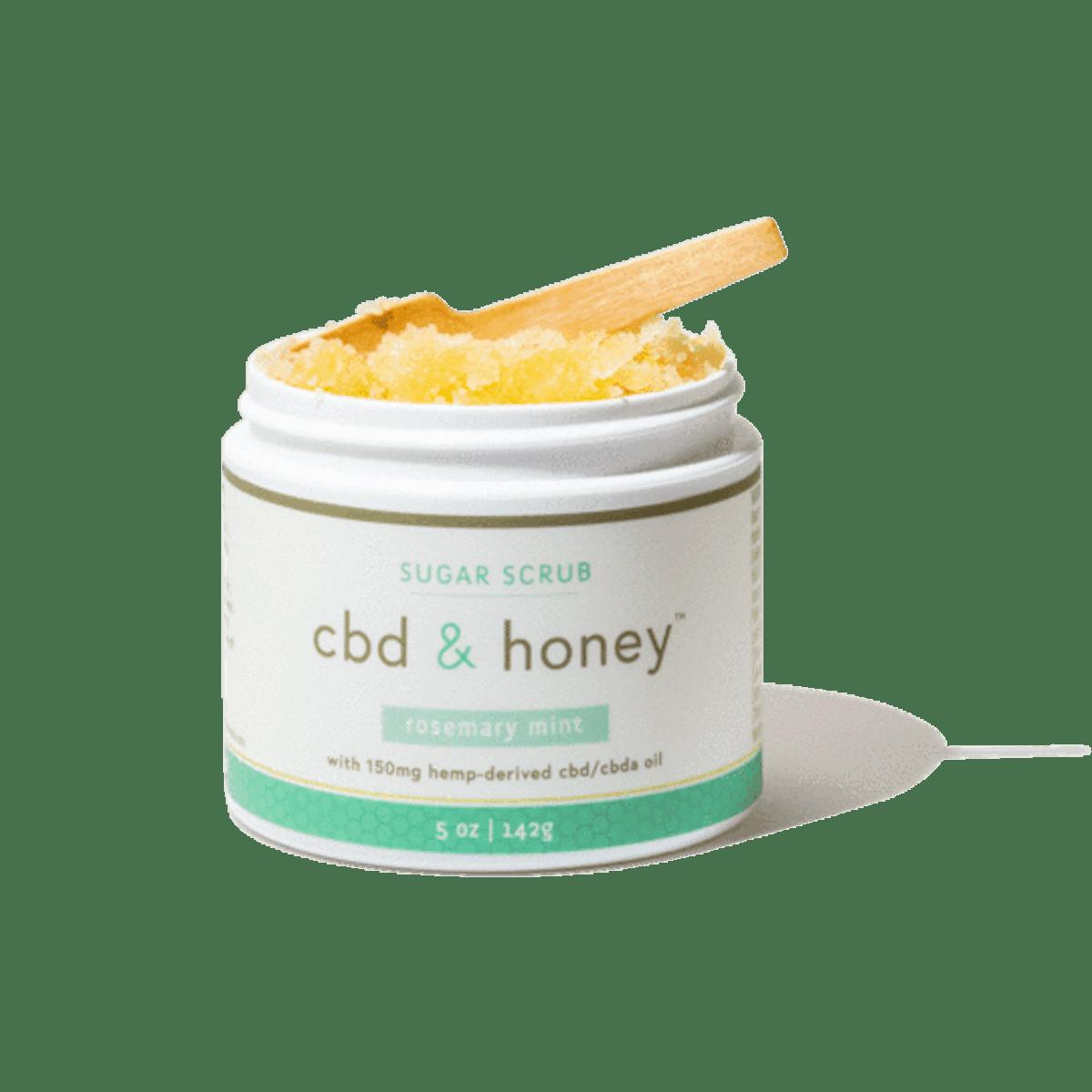 CBD & Honey Sugar Scrub