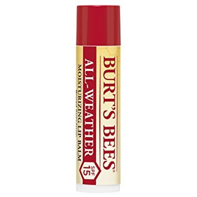 Burt's Bees 100 Percent Natural All-Weather SPF15 Moisturising Lip Balm
