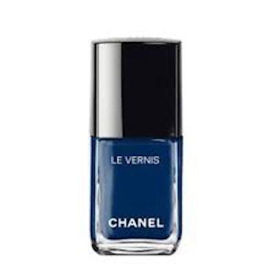 Le Vernis Longwear Nail Color in Bleu Trompeur