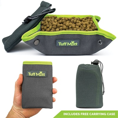 Tuff Mutt Collapsible Canvas Bowl