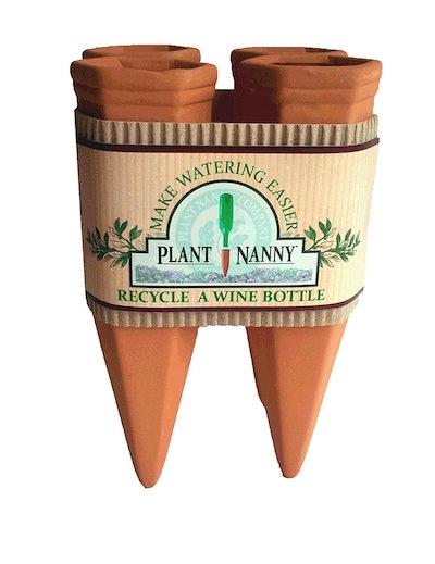 Plant Nanny Wine Bottle Stake Set