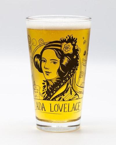 Ada Lovelace Beer Glass