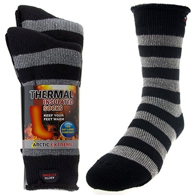 Arctic Extreme Thick Insulated Heated Thermal Socks (15 Pairs)