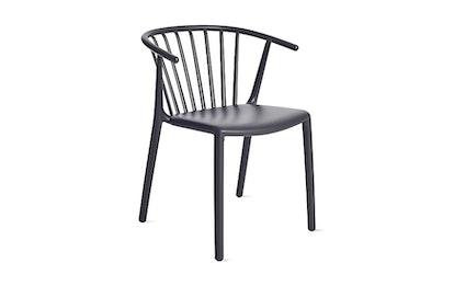 Woody Armchair, Charcoal Grey