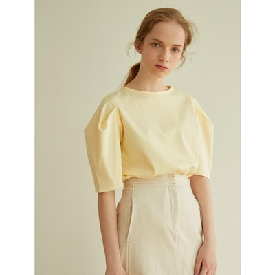 atre Volume Sleeved T-shirts_Yellow