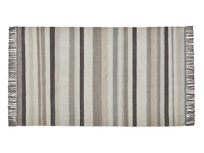 Striped Flatweave Rug 5'x8'