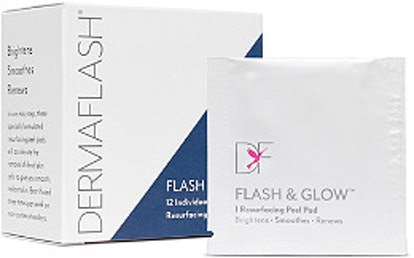 DERMAFLASH Online Only Flash & Glow Peel Pads