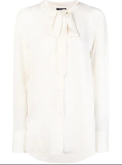 Weekender Tie-Neck Shirt