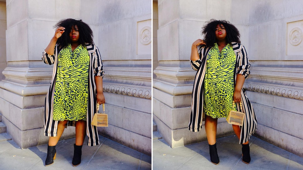 Stephanie Yeboah\'s Plus-Size Slime Green Picks Will Have You ...