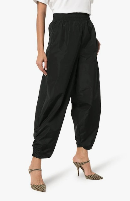High-Waisted Loose Fit Trousers