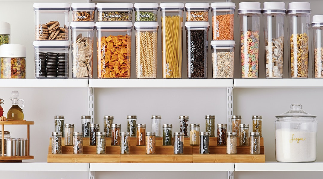 2d17b1d68b94 The Container Store's Kitchen Organization Sale Means 25 Percent Off So  Many Storage Essentials