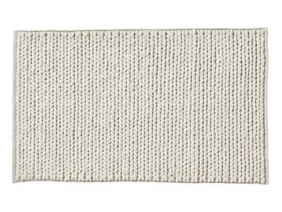 Braided Wool Rug - Ivory 5'x8'