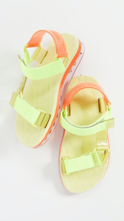 Melissa Papete + Rider Sandals