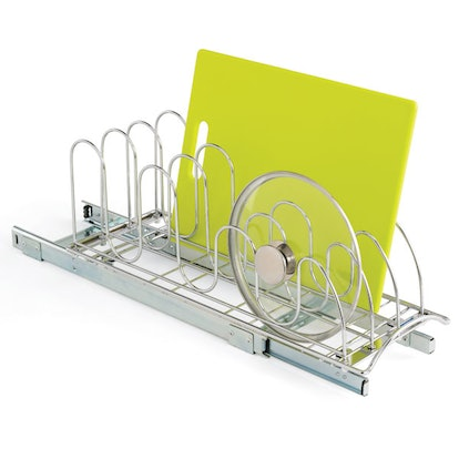 Lynk Chrome Pull-Out Lid Holder