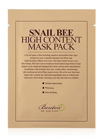 Benton Snail Bee High Content Mask Pack (10 Pieces)