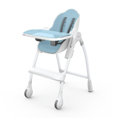 Cocoon High Chair in Blue Raspberry Marshmallow